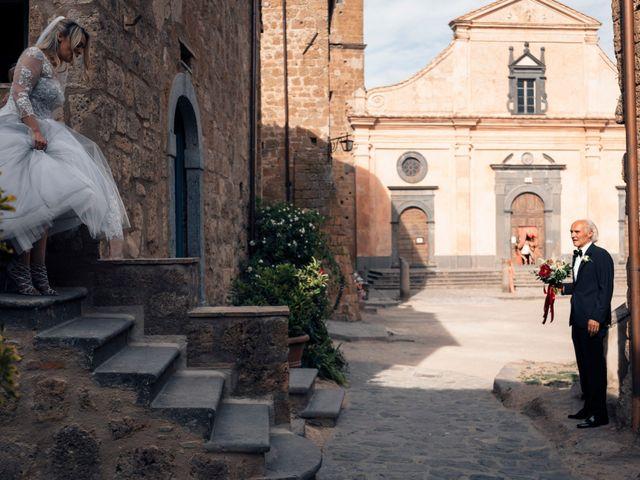 Il matrimonio di Luca e Erika a Bagnoregio, Viterbo 52