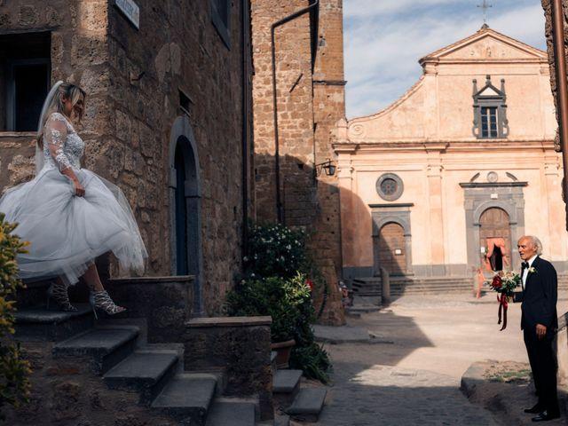 Il matrimonio di Luca e Erika a Bagnoregio, Viterbo 53