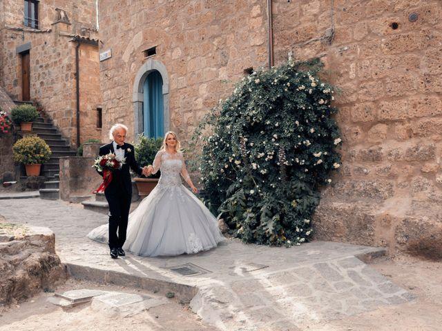 Il matrimonio di Luca e Erika a Bagnoregio, Viterbo 54