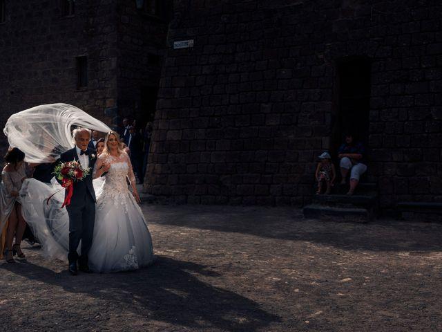 Il matrimonio di Luca e Erika a Bagnoregio, Viterbo 56