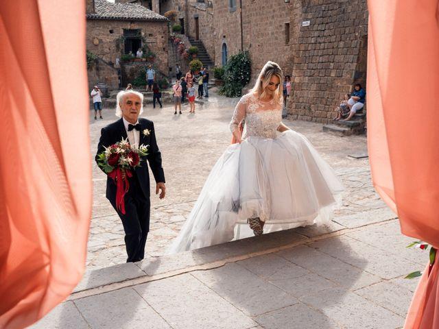 Il matrimonio di Luca e Erika a Bagnoregio, Viterbo 57