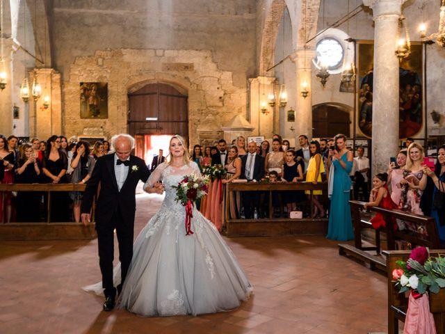 Il matrimonio di Luca e Erika a Bagnoregio, Viterbo 61