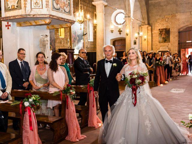 Il matrimonio di Luca e Erika a Bagnoregio, Viterbo 62