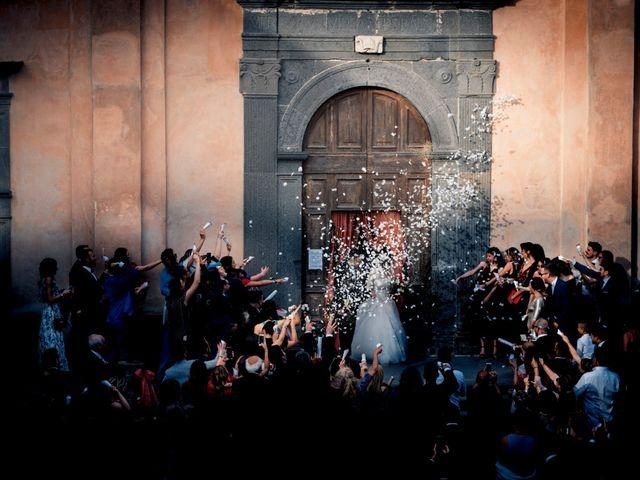 Il matrimonio di Luca e Erika a Bagnoregio, Viterbo 107