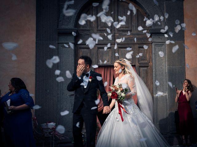 Il matrimonio di Luca e Erika a Bagnoregio, Viterbo 110