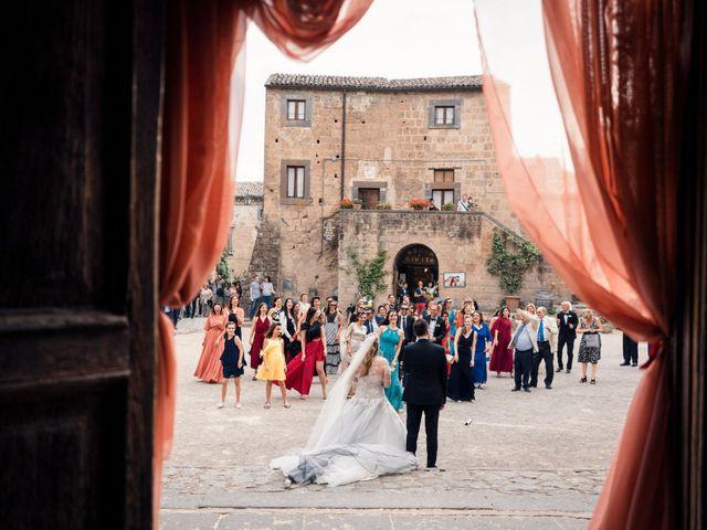 Il matrimonio di Luca e Erika a Bagnoregio, Viterbo 114