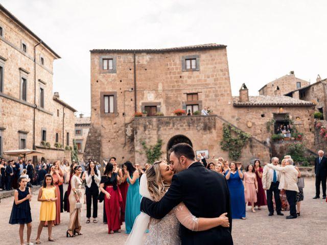 Il matrimonio di Luca e Erika a Bagnoregio, Viterbo 115