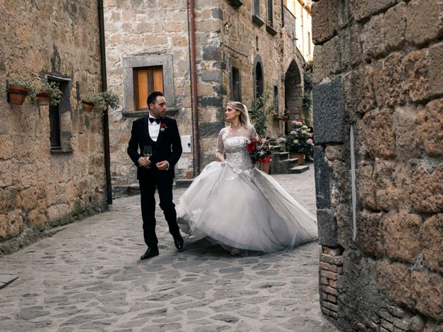 Il matrimonio di Luca e Erika a Bagnoregio, Viterbo 116