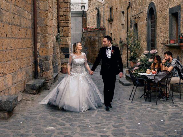 Il matrimonio di Luca e Erika a Bagnoregio, Viterbo 123