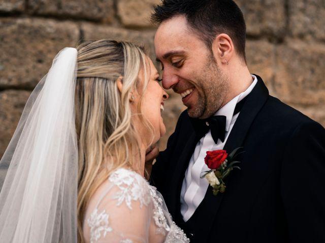 Il matrimonio di Luca e Erika a Bagnoregio, Viterbo 124