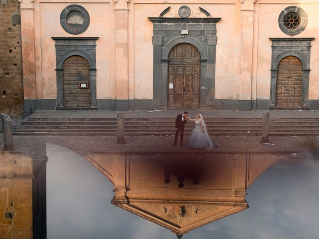 Il matrimonio di Luca e Erika a Bagnoregio, Viterbo 127