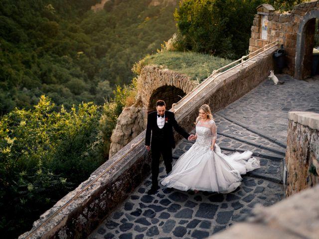 Il matrimonio di Luca e Erika a Bagnoregio, Viterbo 132