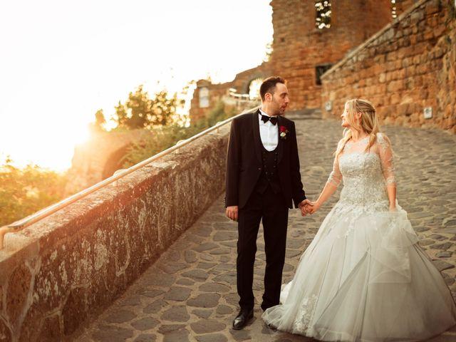 Il matrimonio di Luca e Erika a Bagnoregio, Viterbo 133