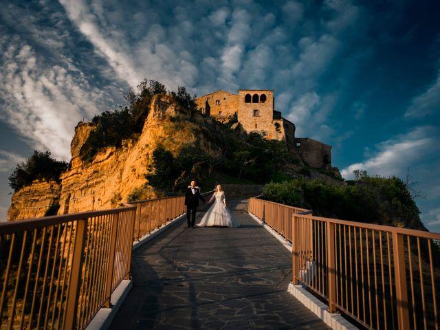 Il matrimonio di Luca e Erika a Bagnoregio, Viterbo 135