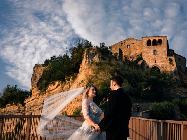 Il matrimonio di Luca e Erika a Bagnoregio, Viterbo 137
