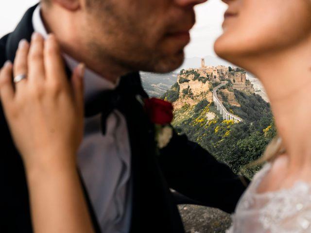 Il matrimonio di Luca e Erika a Bagnoregio, Viterbo 139