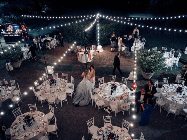 Il matrimonio di Luca e Erika a Bagnoregio, Viterbo 149