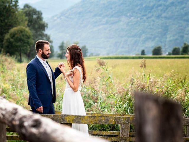 Il matrimonio di Christian e Serena a Berbenno di Valtellina, Sondrio 40
