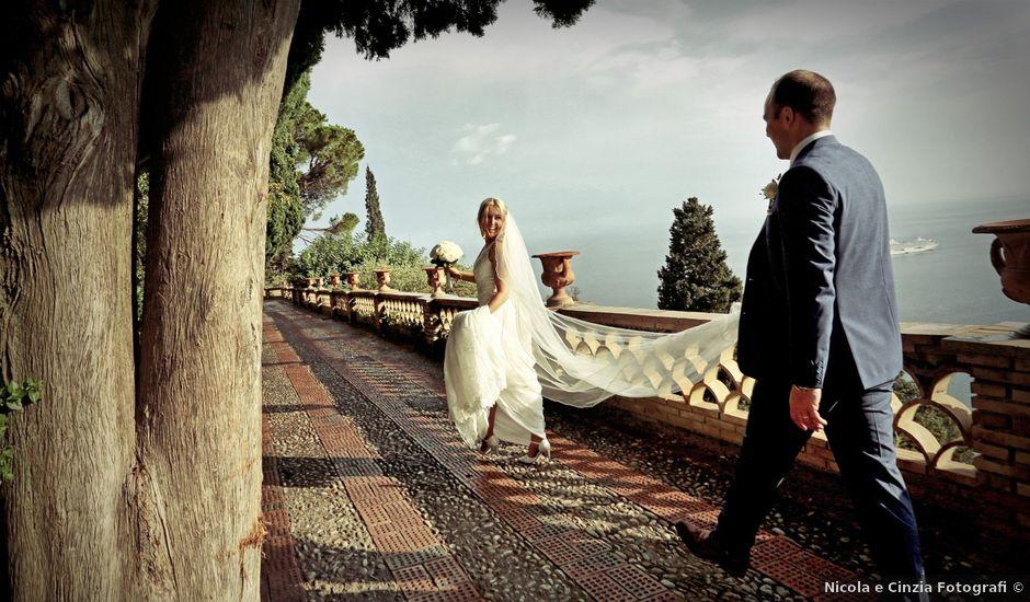 Il matrimonio di Kyle e Niamh a Taormina, Messina