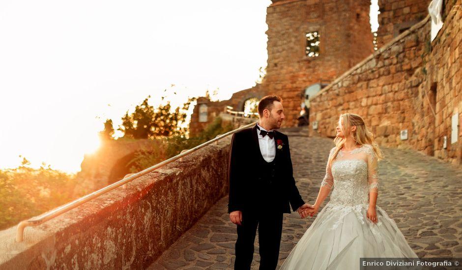 Il matrimonio di Luca e Erika a Bagnoregio, Viterbo