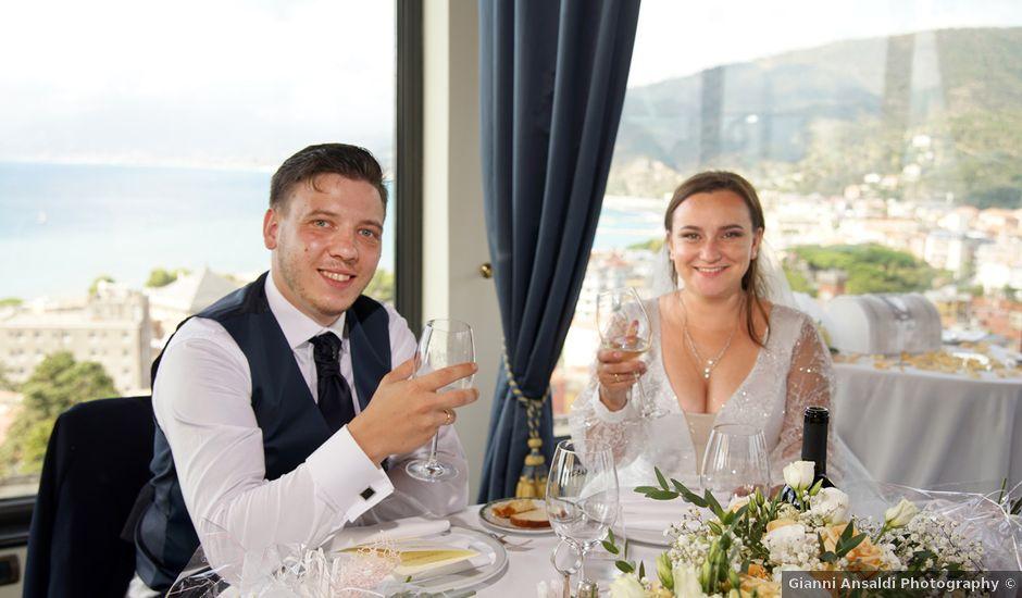 Il matrimonio di Cristina e Roman a Sestri Levante, Genova