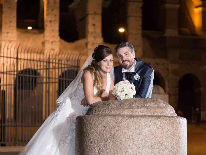 le nozze di Romina e Alessio
