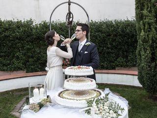 Le nozze di Melania Serafini e Paolo Terrevazzi