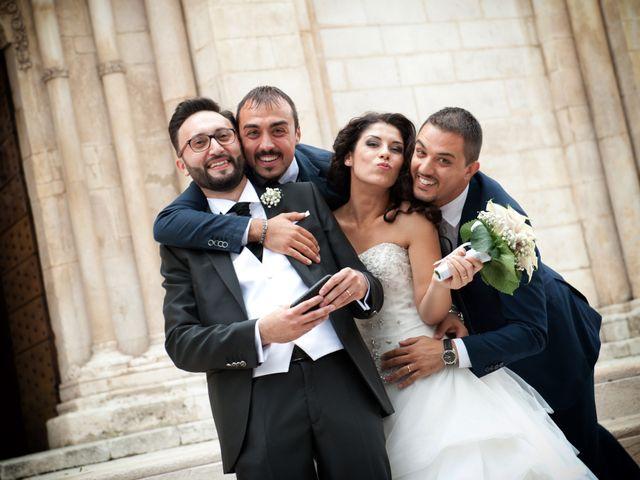 Il matrimonio di Fernando e Daniela a Sulmona, L'Aquila 39