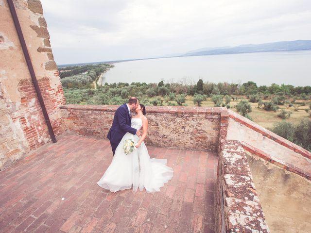 Il matrimonio di Daniele e Federica a Castiglione del Lago, Perugia 67