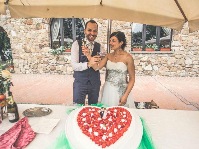 Il matrimonio di Daniele e Federica a Castiglione del Lago, Perugia 131