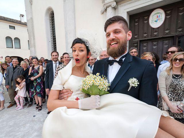 Il matrimonio di Elena e Luca a Motta di Livenza, Treviso 15