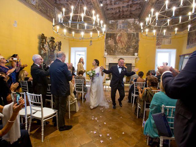 Il matrimonio di Massimo e Tina a Ceri, Roma 2