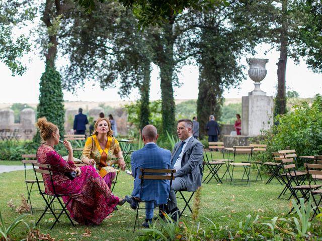Il matrimonio di Massimo e Tina a Ceri, Roma 12