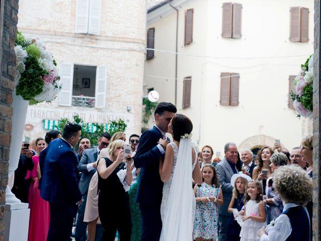 Il matrimonio di Matteo e Elisa a Fermo, Fermo 105