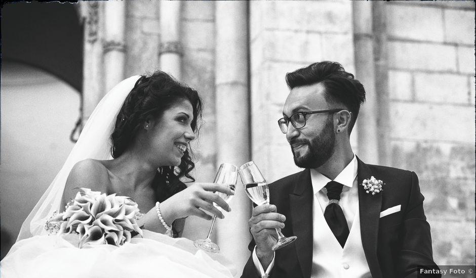 Il matrimonio di Fernando e Daniela a Sulmona, L'Aquila