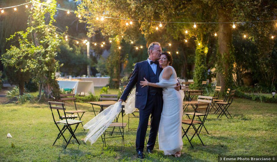 Il matrimonio di Massimo e Tina a Ceri, Roma