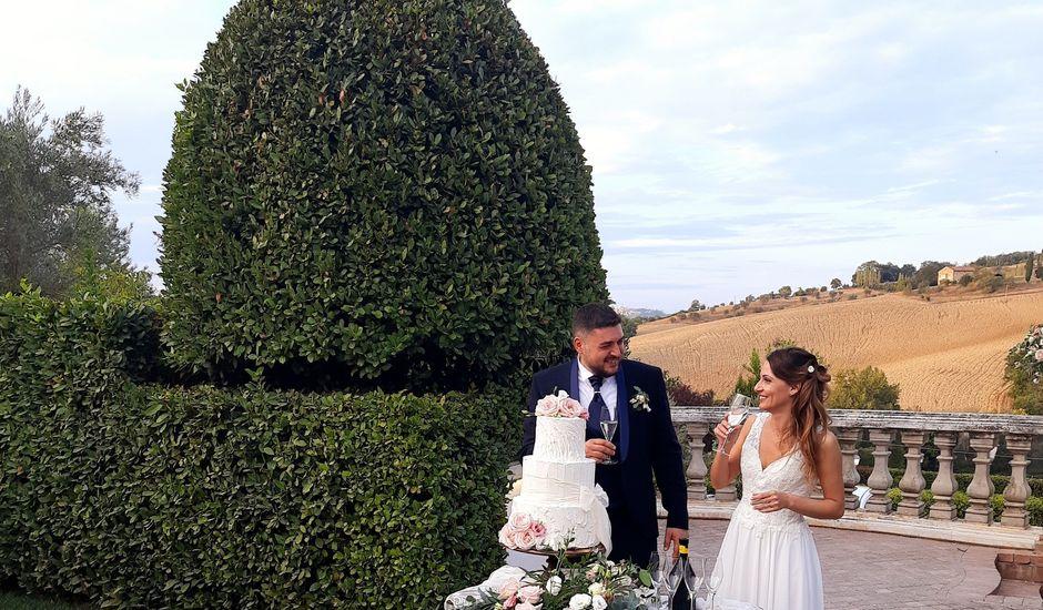 Il matrimonio di Michele e Stefania a Sarnano, Macerata