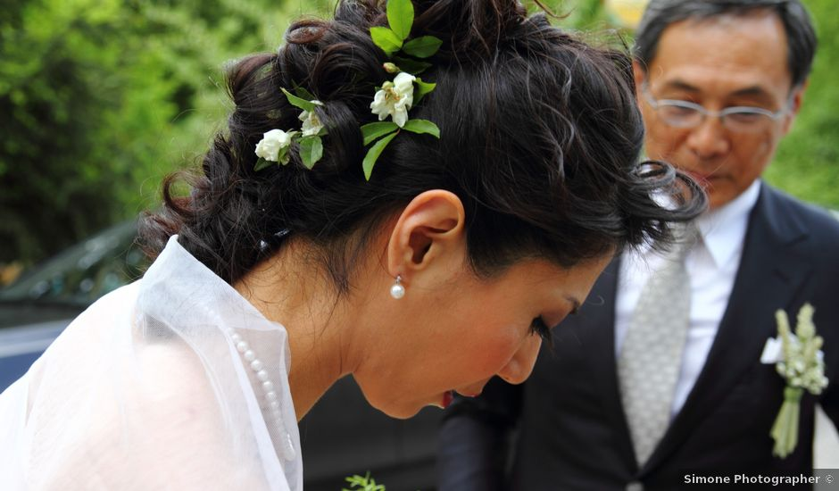 Il matrimonio di Pavel e Satoko a Longare, Vicenza