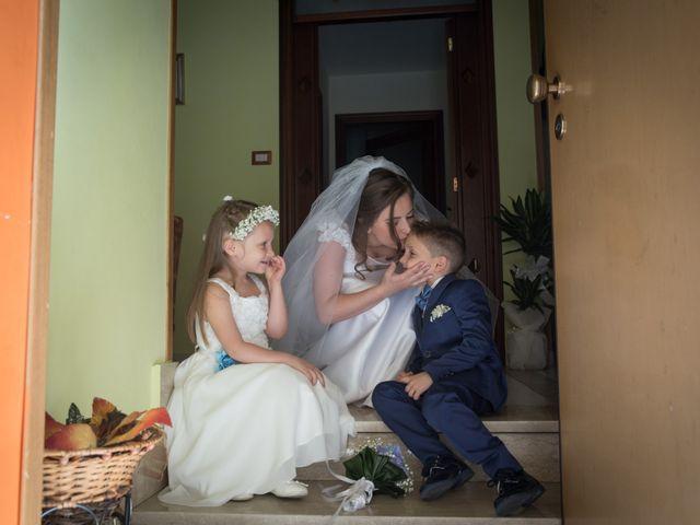 Il matrimonio di Ciro e Antonella a Castel San Giorgio, Salerno 14