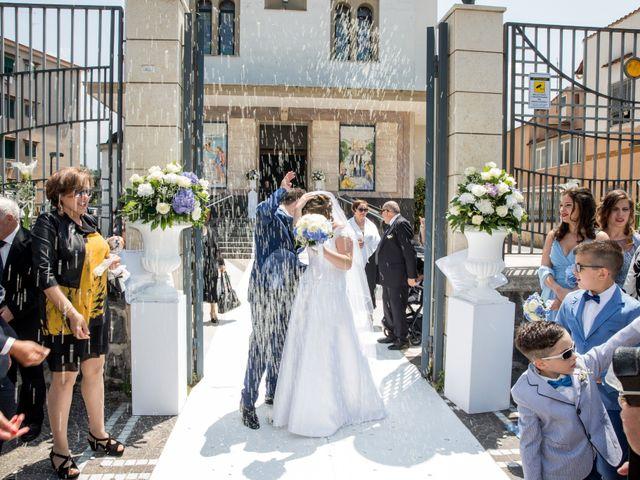 Il matrimonio di Ciro e Antonella a Castel San Giorgio, Salerno 37