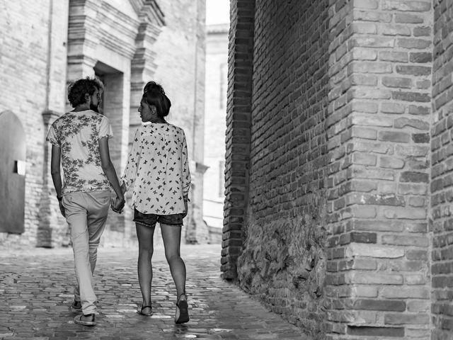 Il matrimonio di Riccardo e Silvia a Montefiore Conca, Rimini 4