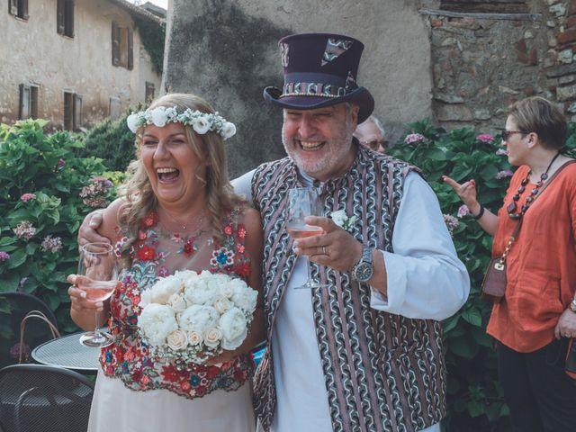 Il matrimonio di Carlo e Monica a La Valletta Brianza, Lecco 89
