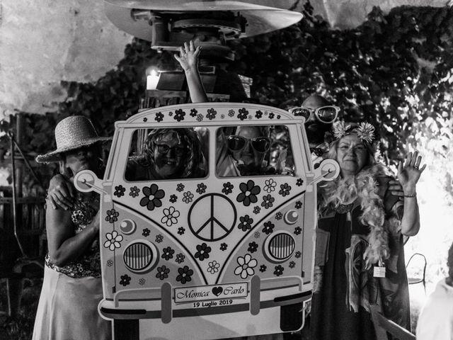 Il matrimonio di Carlo e Monica a La Valletta Brianza, Lecco 126