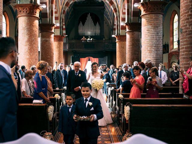 Il matrimonio di Davide e Micaela a Sartirana Lomellina, Pavia 41