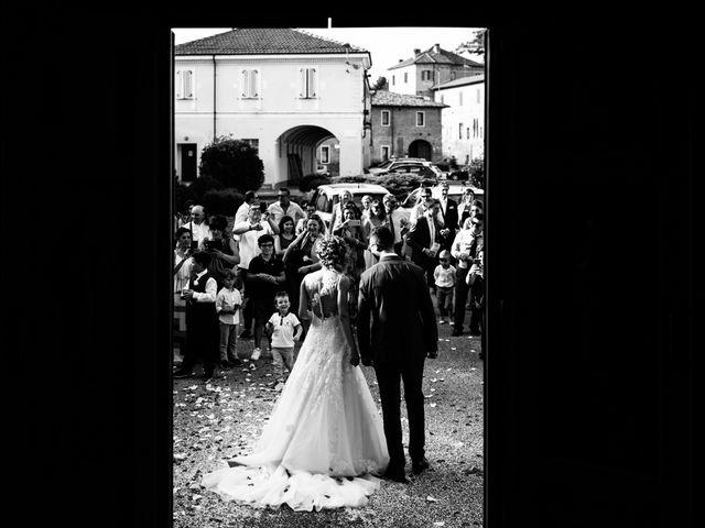 Il matrimonio di Davide e Micaela a Sartirana Lomellina, Pavia 54