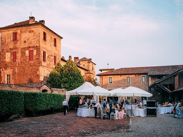 Il matrimonio di Davide e Micaela a Sartirana Lomellina, Pavia 70