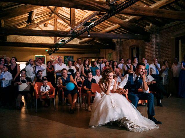 Il matrimonio di Davide e Micaela a Sartirana Lomellina, Pavia 74