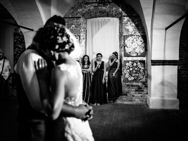 Il matrimonio di Davide e Micaela a Sartirana Lomellina, Pavia 98