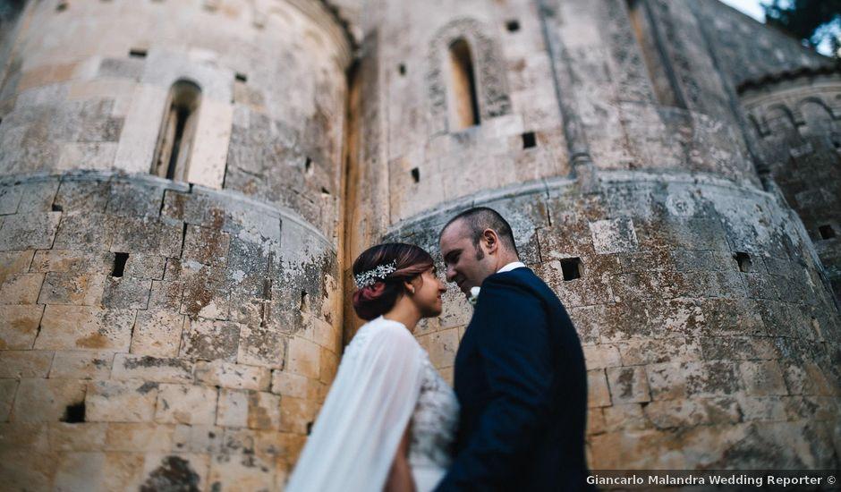 Il matrimonio di Mauro e Selena a Ocre, L'Aquila