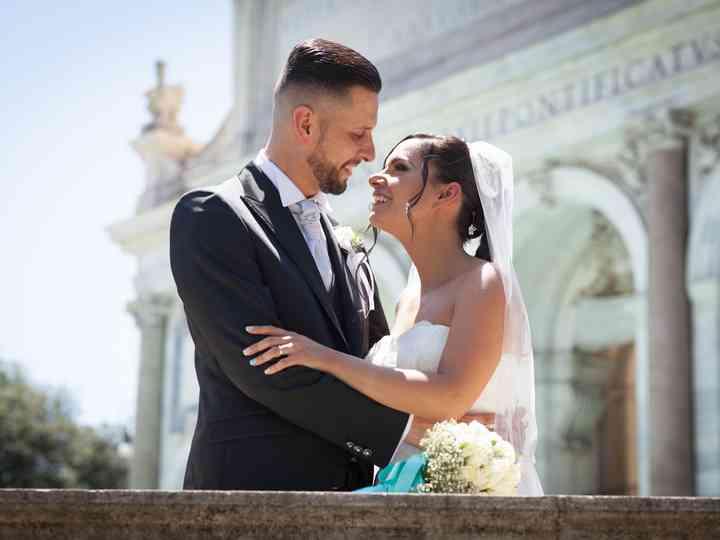 le nozze di Gilda e Davide